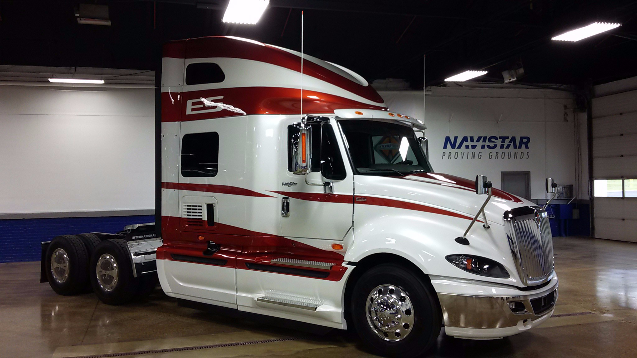 Navistar opens new proving grounds in indiana to test heavy trucks with photo gallery