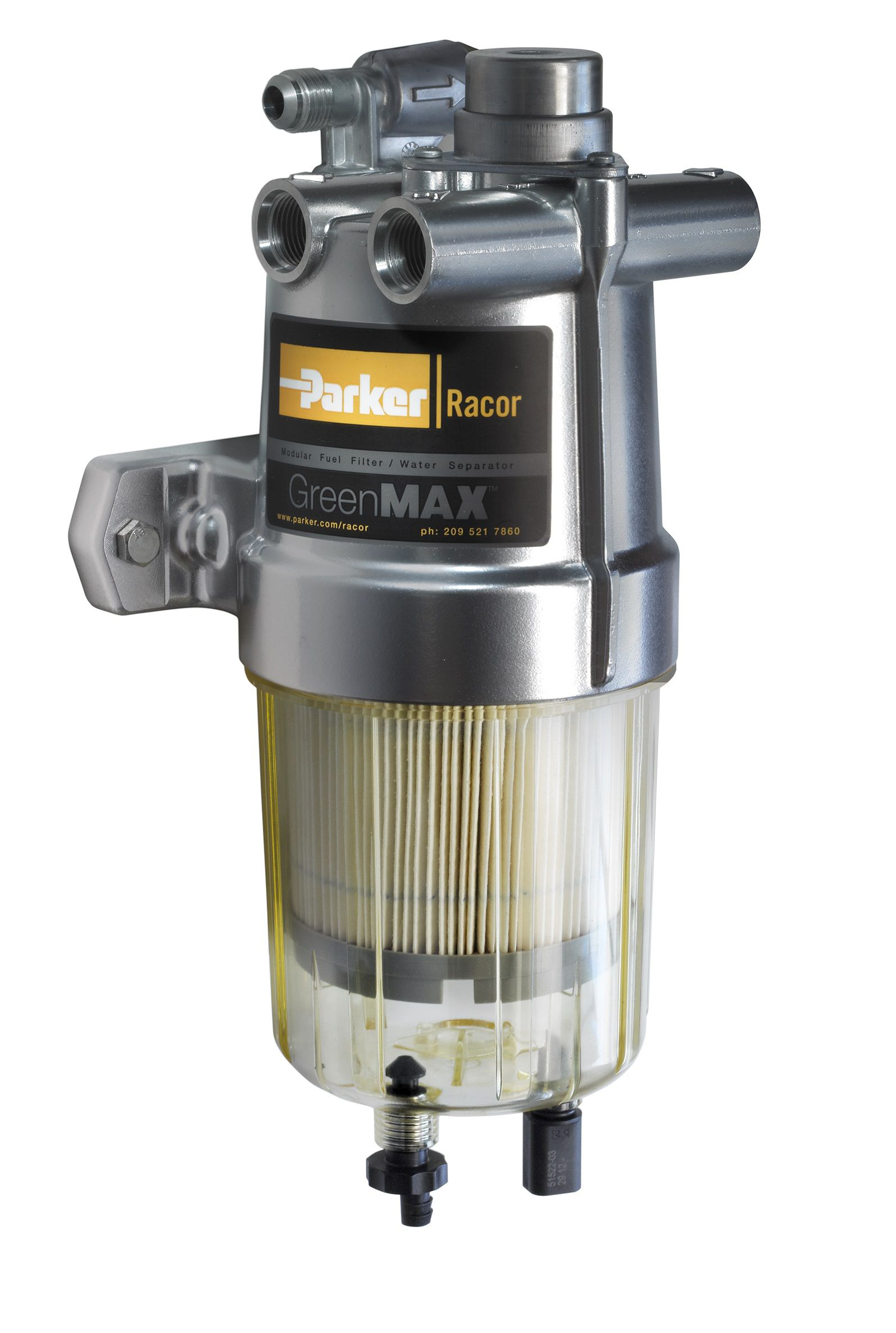 Racor's fuel filter/water separator on