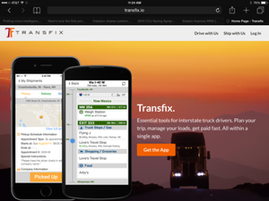 Click here to download the Transfix app for drivers, available on Android devices.