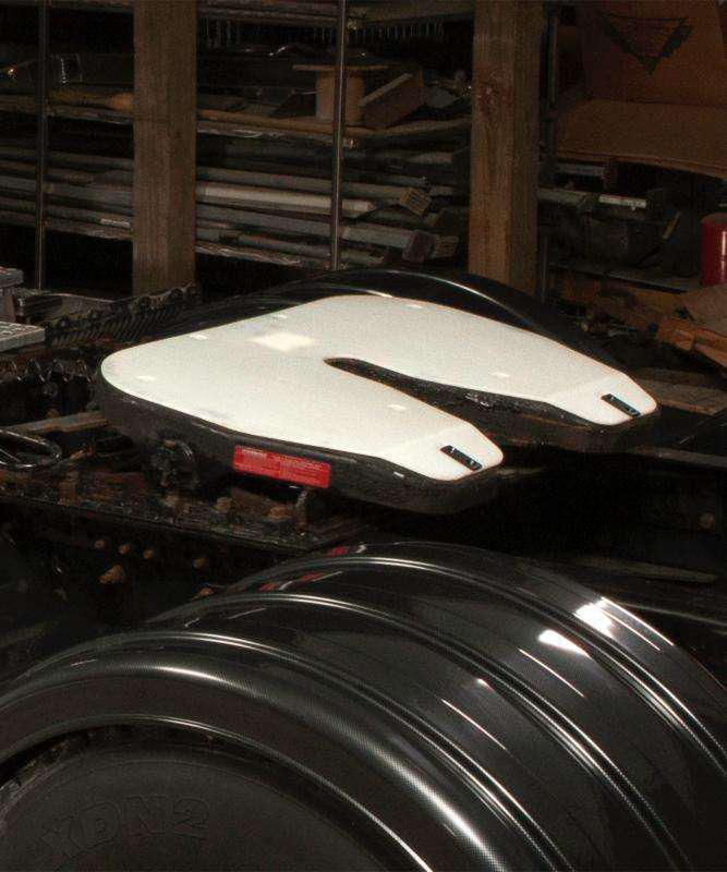 Minimizer Slick Plate Fifth-Wheel Plate