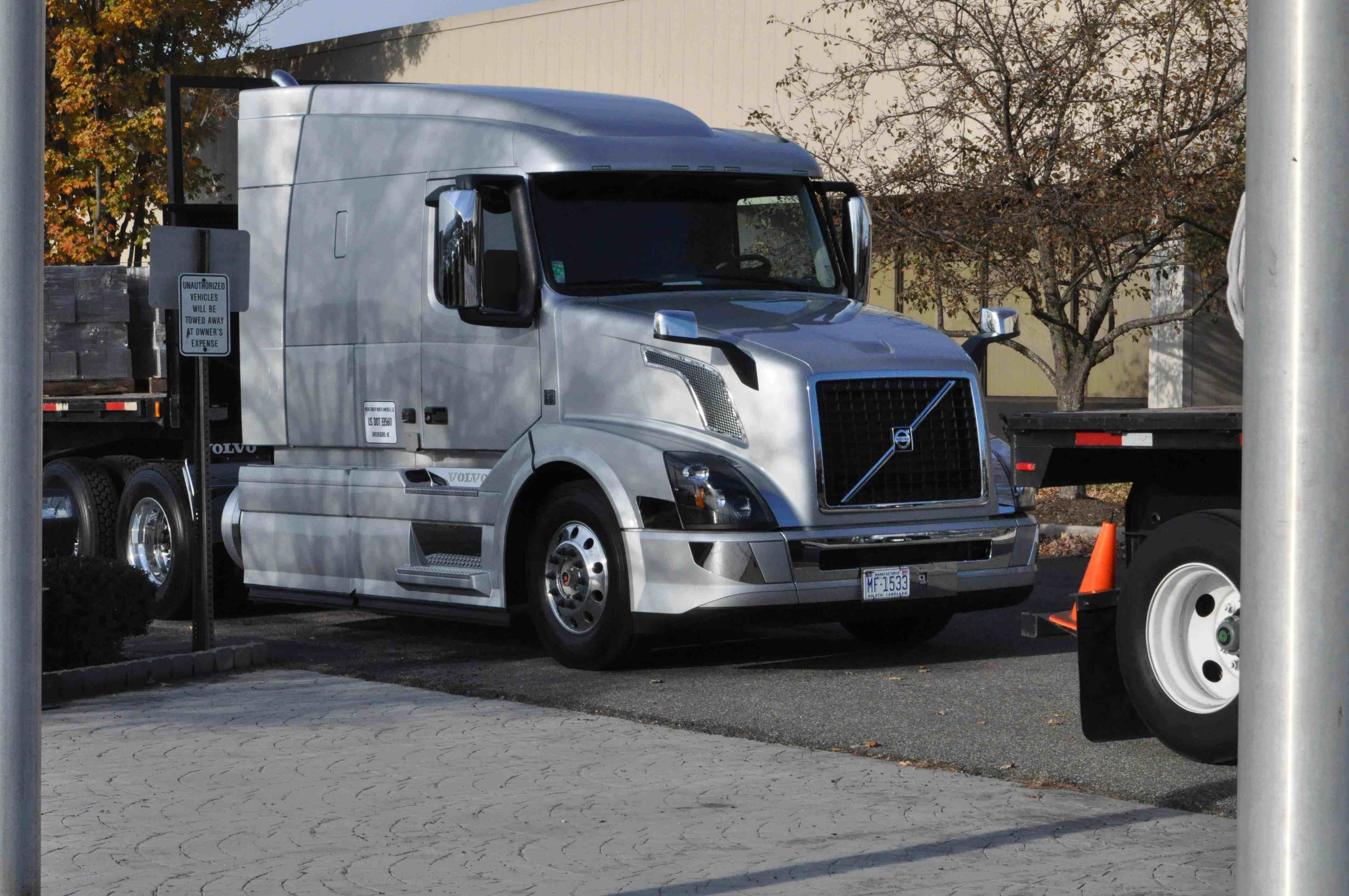 Certain Volvo VNL and VNM tractors are being recalled due to a possible defect in the trailer hand brake.