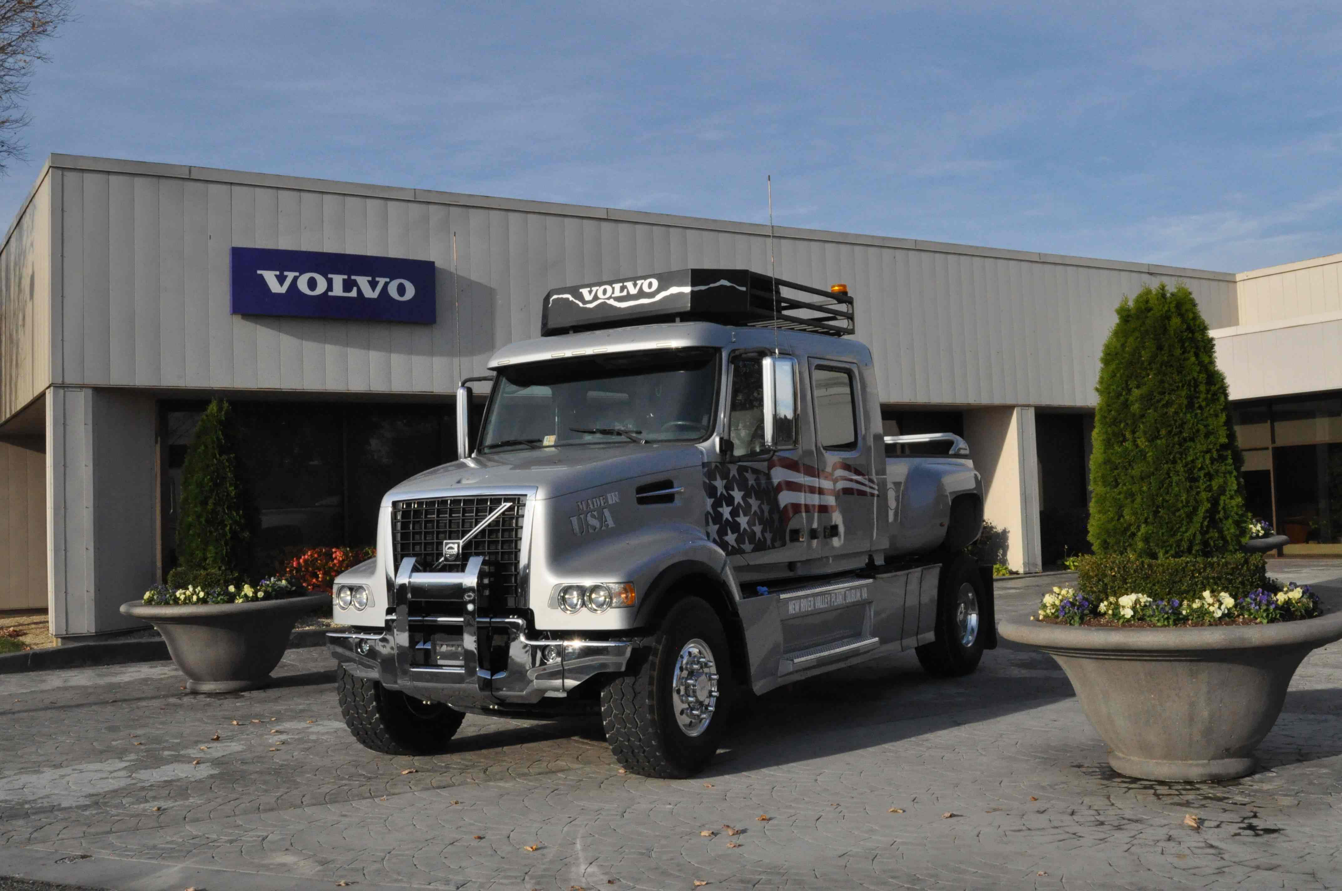 Volvo honored for energy reduction efforts