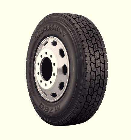 Bridgestone announces B760 FuelTech retread tandem drive tire