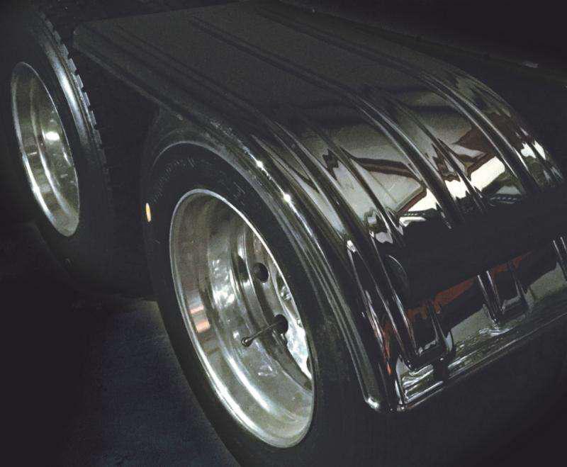 Minimizer Smoky Black Mirror Fender