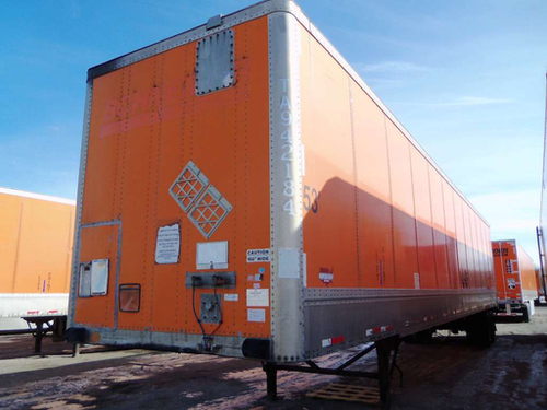 Schneider's trailer-tracking system continuously monitors each of the company's trailers on the road.