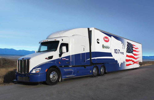 Bridgestone joins Peterbilt, Cummins on SuperTruck II project