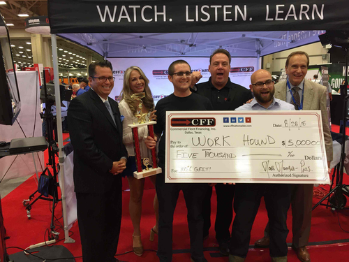 Max Farrell and Andrew Kirpalani, founders of Workhound, recently won the Truck Tank competition at GATS.