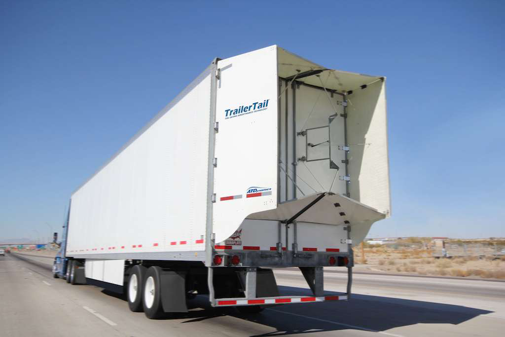 Aerodynamic Tractor Trailer : Reshaping the dry van new laws tech and pressure