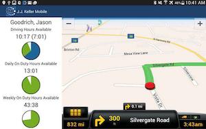 J.J. Keller & Associates partnered with ALK Technologies to add CoPilot Truck GPS navigation as an option in its J. J. Keller Compliance Tablet. Drivers can view Hours of Service information alongside the navigation guidance screen.