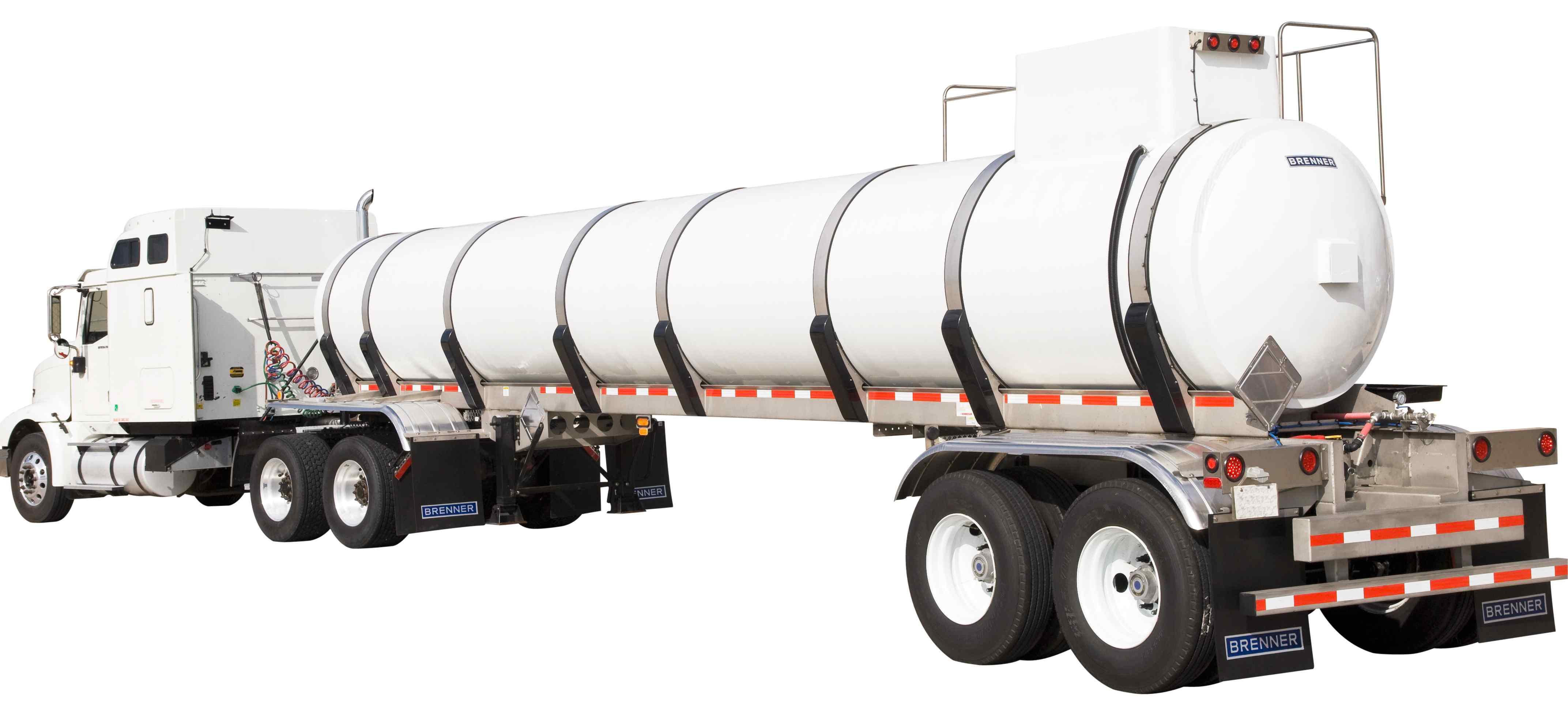 Poly Tank Trailer : Wabash national s brenner plastic tank trailer