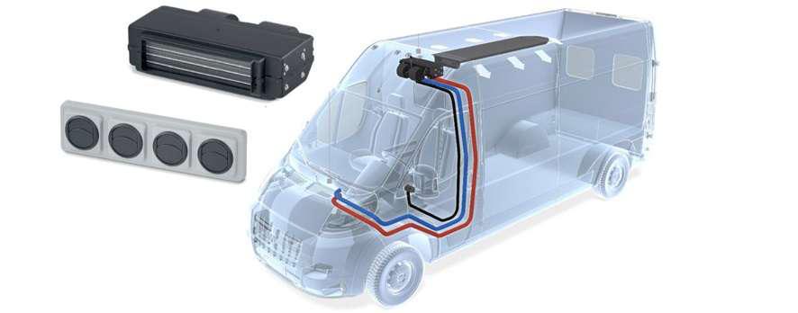 Webasto London Medium-Duty HVAC