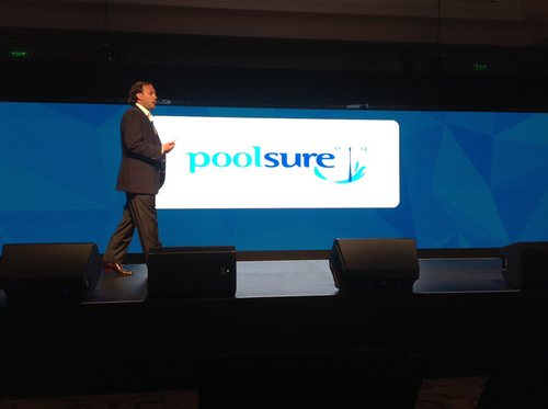 Alan Falik, president of Poolsure, talked about the game-changing benefits of route planning tools during the Telogis Latitude conference, Oct. 26.