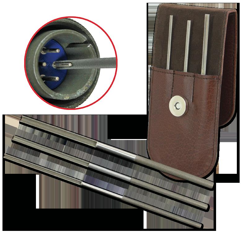 IPA Micro-Male Electrical Pin Cleaners