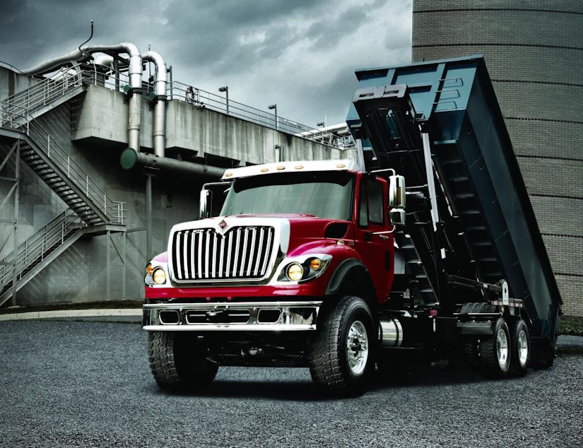 International WorkStar Truck on Display