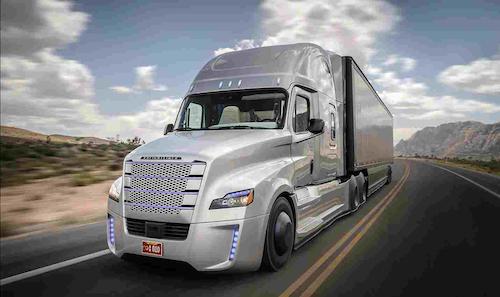 Trucking's Future Now - Equipment - Freightliner Inspiration Truck