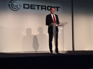 Daimler Trucks' Wolfgang Bernhard says DD5 and DD8 production will move to Detroit in the near future.
