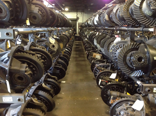 A look inside of one of LKQ's parts warehouses.