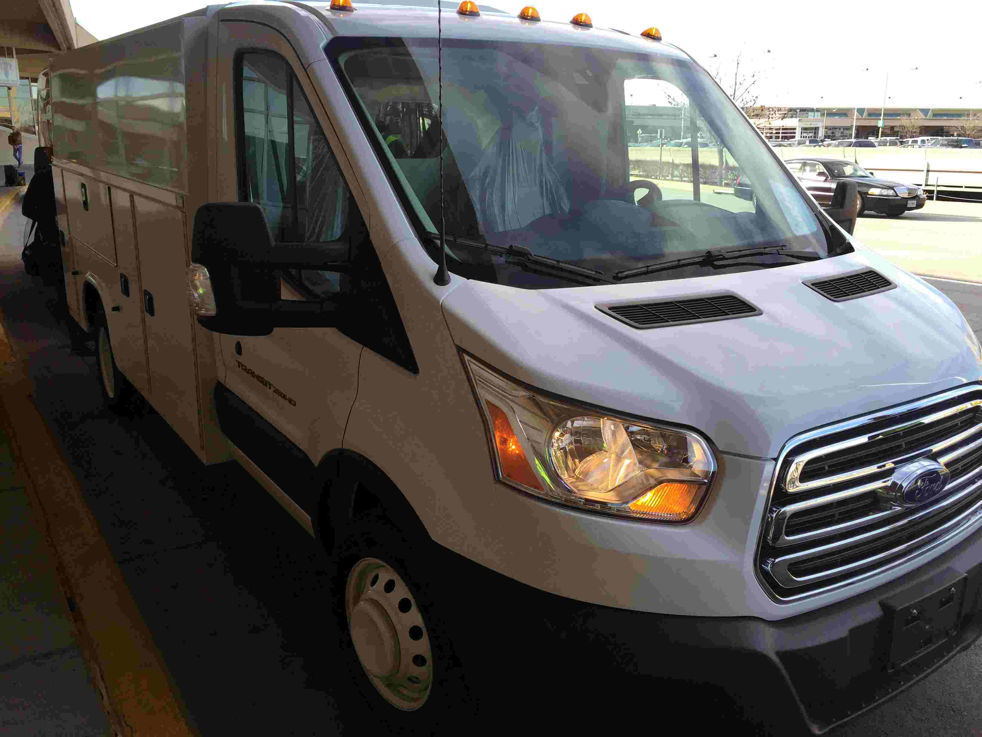 Test drive 2016 Ford Transit commercial van