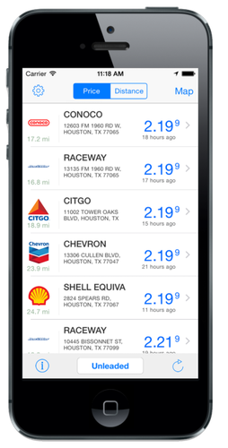 U.S. Bank launched the Voyager Mobile app earlier this year. Fleet managers use it primarily to monitor drivers' fuel buying decisions; drivers use it to choose their fueling locations
