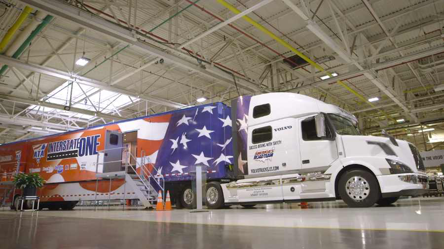 Volvo highlights America's Road Team, signature VNL 780 in latest 'Welcome to My Cab' installment