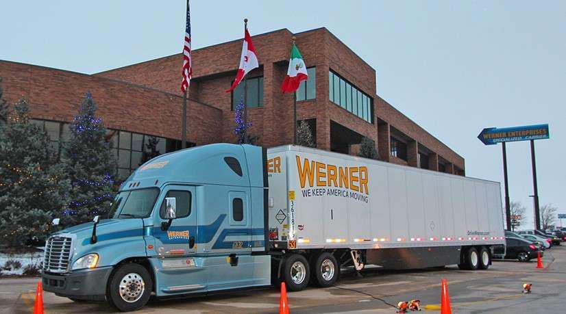 Confirm. join werner enterprises piss off