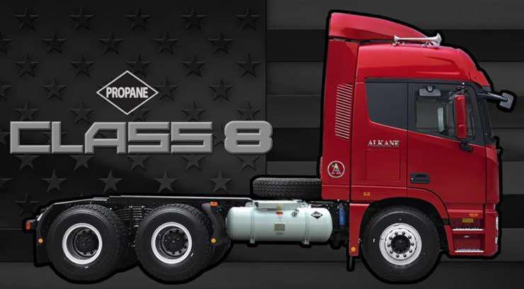 Alkane Class 8 Truck