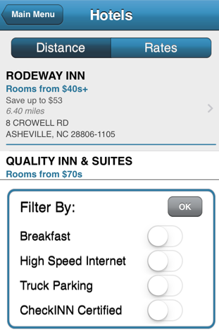Fleets say Comdata's hotel network removes a 'frustration point' for