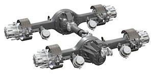 Dana introduces more axle ratios compatible with SmartAdvantage powertrain