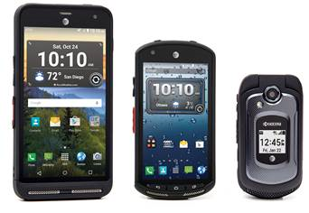 Kyocera Rugged AT&T Devices