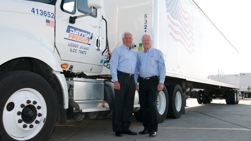 Mike Cronin, executive vice president, and Tom Cronin, president, say 'The Dayton Difference' is all about going the extra mile for customers and for others.