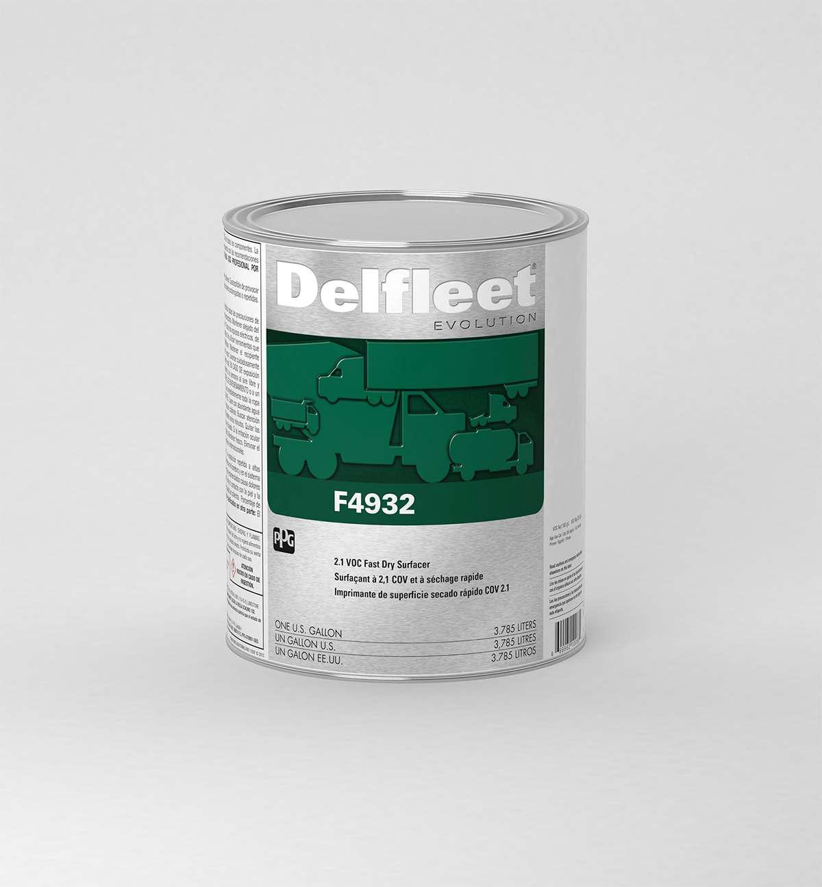 PPG Delfleet F4932 2.1 VOC Urethane Surfacer