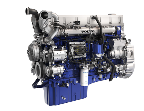 volvo unveils new engine lineup for 2017 i shift updates the 2017 volvo d13 and d11 feature a new wave piston which increases the compression ratio long says from 16 1 to 17 1 and maximizes fuel efficiency