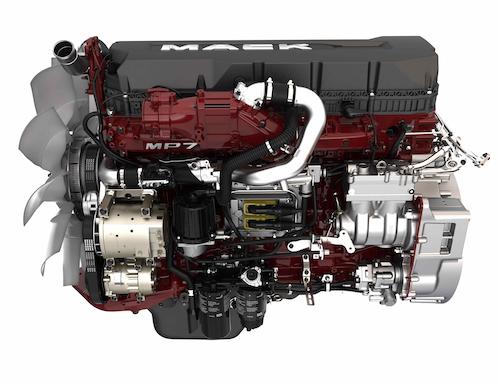 Mack Unveils 2017 Engine Lineup Addition Of Predictive