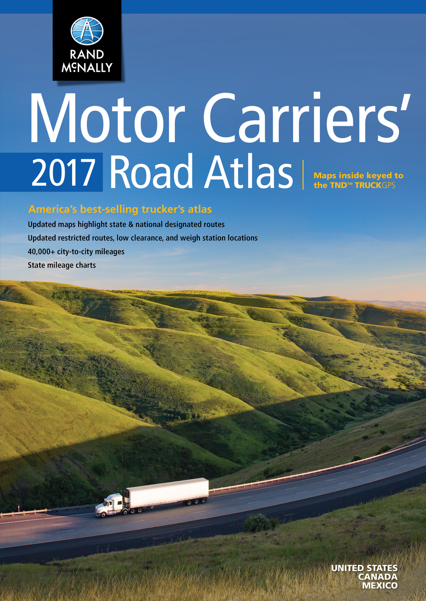 Large Scale Road Atlas Rand Mcnally Large Scale Road Atlas USA