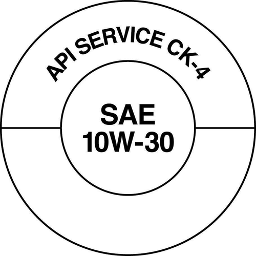 API developed two visually different API Service Symbol Donuts so that consumers can easily distinguish between the two categories. The new API FA-4 Donut features a shaded section to differentiate API FA-4 oils from CK-4 oils. The API CK-4 Donut will look the same as the current CJ-4 Donut.