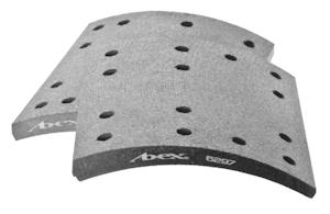 Federal-Mogul Motorparts Abex 6297 RSD-Certified Brake Lining