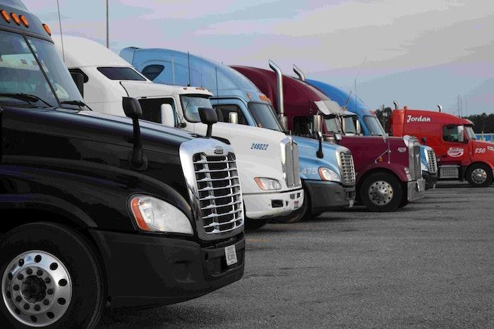 truckstop truck stop hours of service evening parking hos fuel island20160526_0015