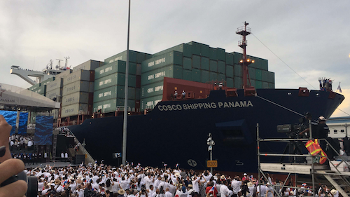 The newly completed Panama Canal Expansion allows Neopanamax ships with nearly three times more capacity to cut several days or weeks off transit times from Asia to the U.S. East Coast.