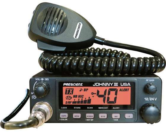 President Electronics Johnny III CB