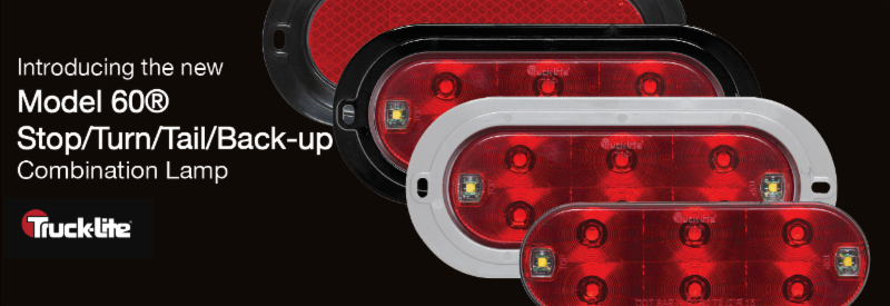 Truck-Lite Model 60 Stop:Turn:Tail & Back-up Combination Lamp