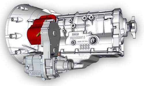 VMAC DTM70 PTO-driven rotary-screw air compressor