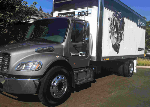 Detroit ready to roll out 4 cylinder DD5 engine in Freightliner M2 106 trucks