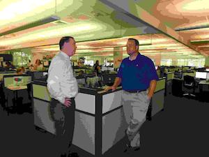 Richard Cribbs, CFO, and Doug Schrier, VP