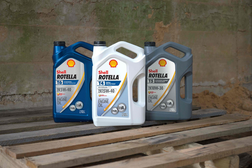 Shell unveils next-gen Rotella oil, expected to boost fuel economy