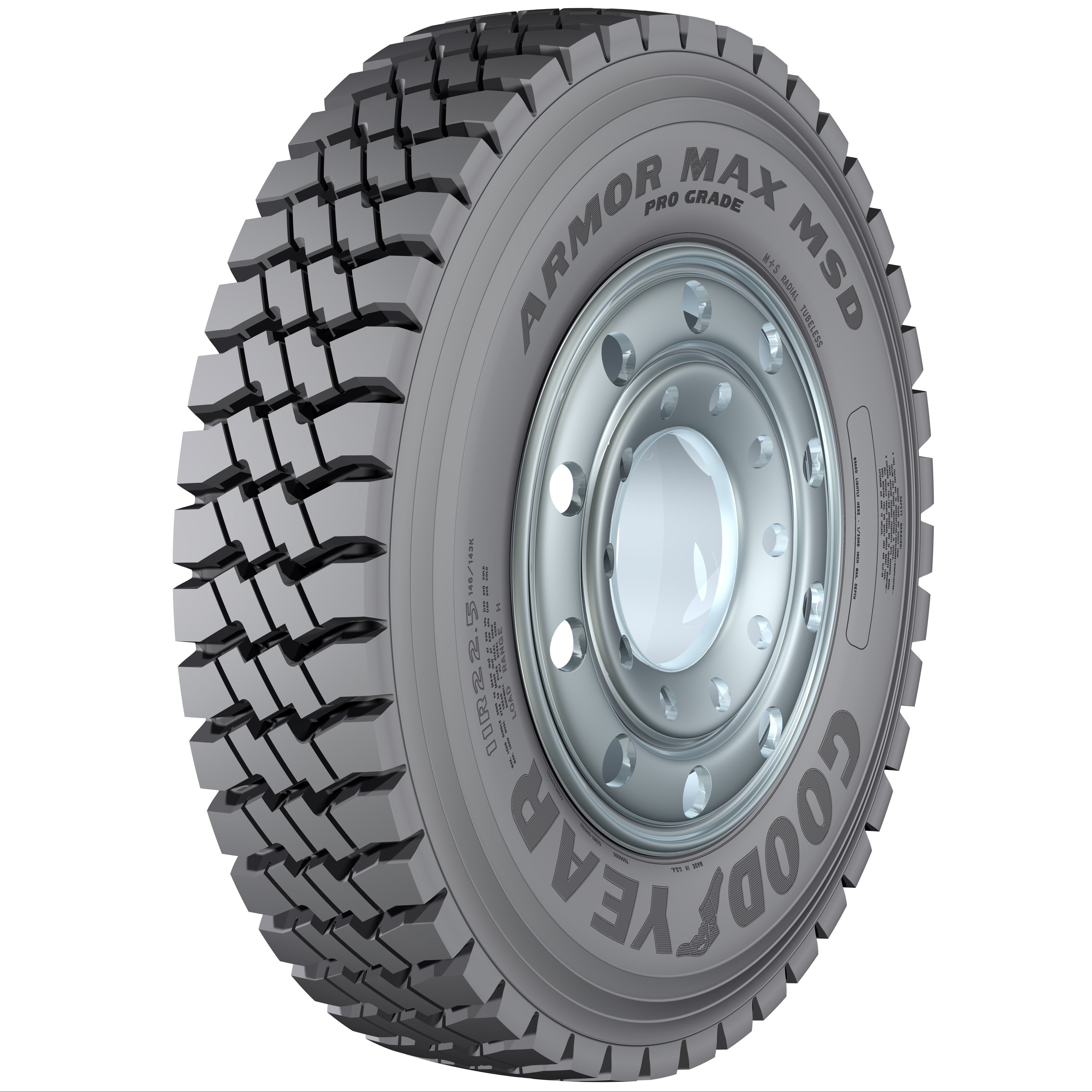 Goodyear Armor Max Pro Grade MSD Tire