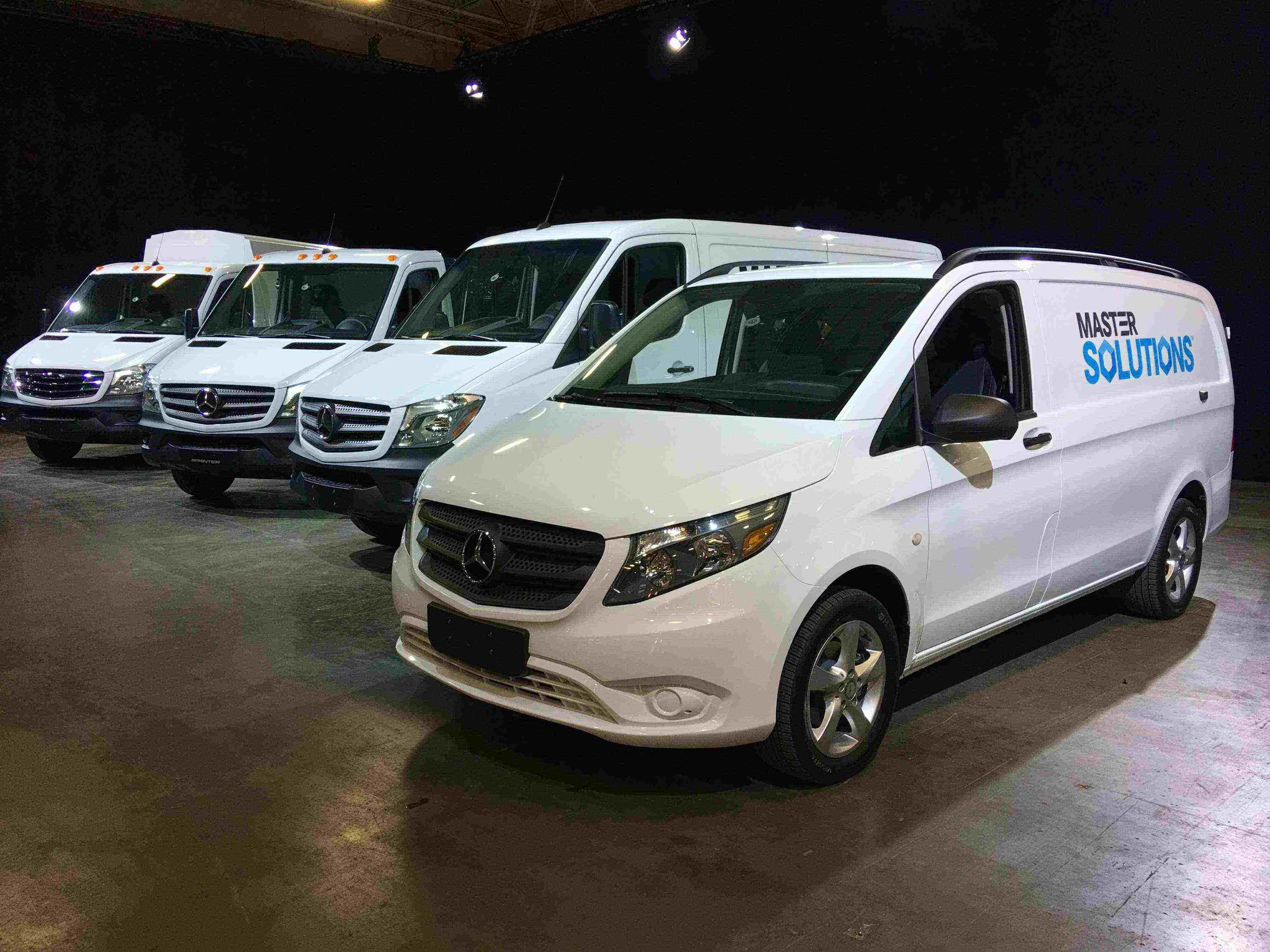 Mercedes benz vans goes all in with new u s sprinter for Mercedes benz options