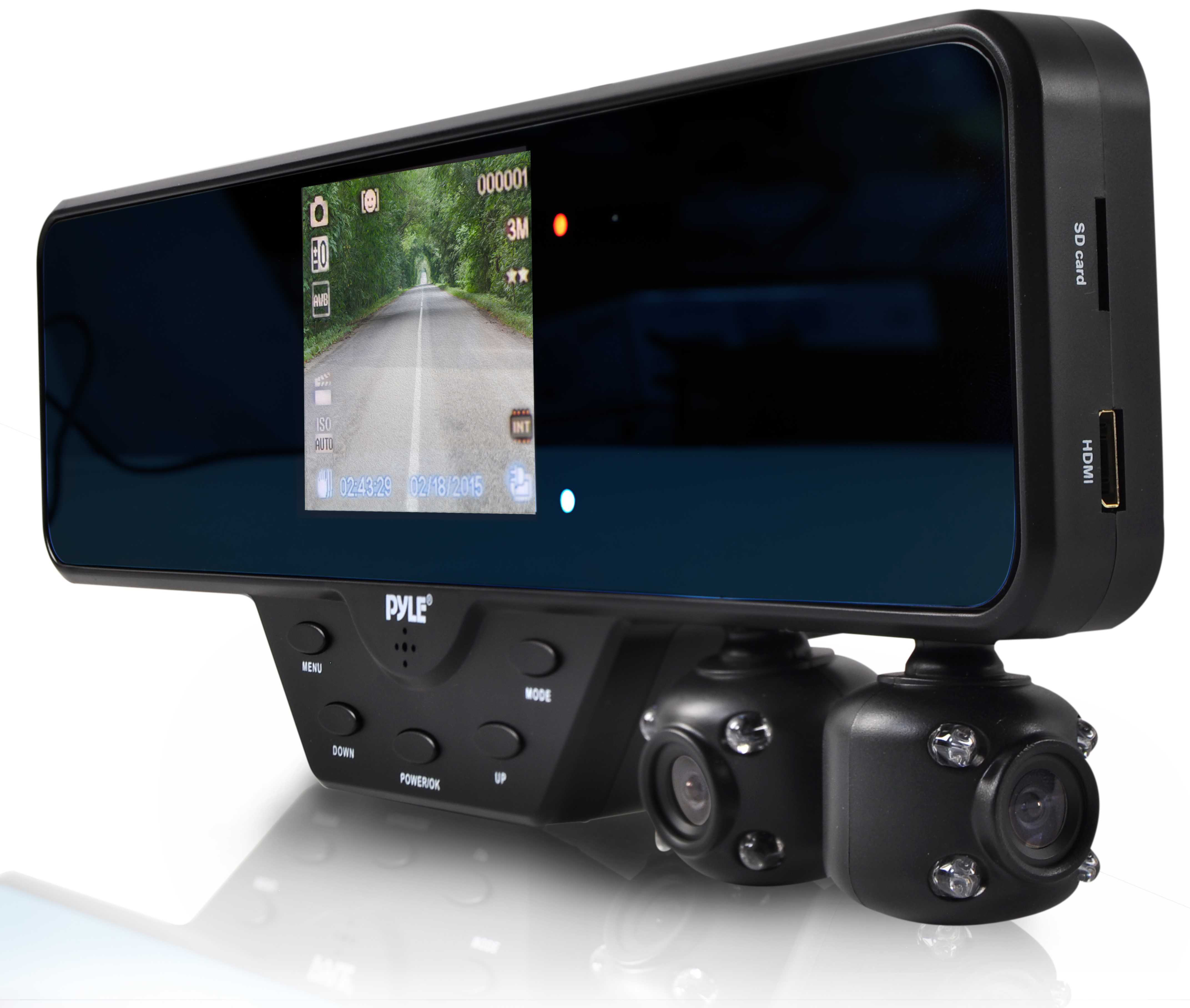 Pyle Dual Camera and Monitor DVR System