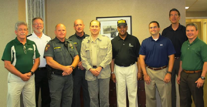 Fmcsa 39 s administrator darling visits miller transporters for Chp motor carrier safety unit