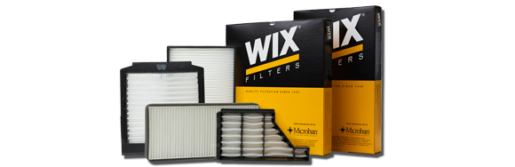 Wix Microban Cabin Air Filters