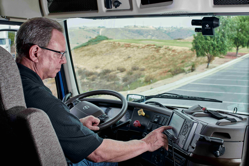 Omnitracs CEV is fully integrated with the in-cab platform and uses a single data plan.